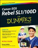 Canon EOS Rebel SL1/100D For Dummies Pdf/ePub eBook