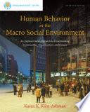 Brooks Cole Empowerment Series  Human Behavior in the Macro Social Environment