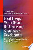 Food-Energy-Water Nexus Resilience and Sustainable Development