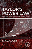 Taylor's Power Law