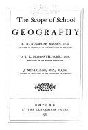 The Scope Of School Geography