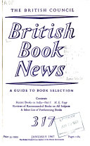 British Book News Book