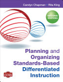 Planning and Organizing Standards Based Differentiated Instruction