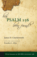 Has Psalm 156 Been Found
