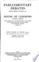The Parliamentary Debates (Hansard) Official Report