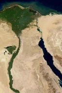 The Nile River in Egypt from Space Journal