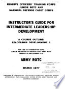 Instructor s Guide for Introduction to Leadership Development