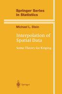 Interpolation of Spatial Data
