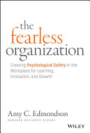 Pdf The Fearless Organization