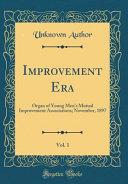 Improvement Era Vol 1