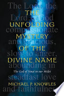 The Unfolding Mystery of the Divine Name Book