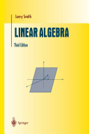 Linear Algebra - Seite iii