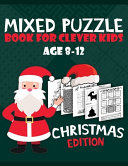 Mixed Puzzle Book for Clever Kids Age 8 12