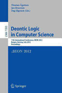 Deontic Logic in Computer Science