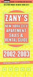 Zany s New York City Apartment Guide 2002 2003