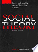 Social Theory Power And Identity In The Global Era