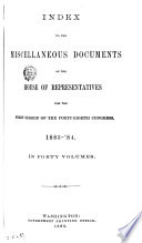 Miscellaneous Documents Book