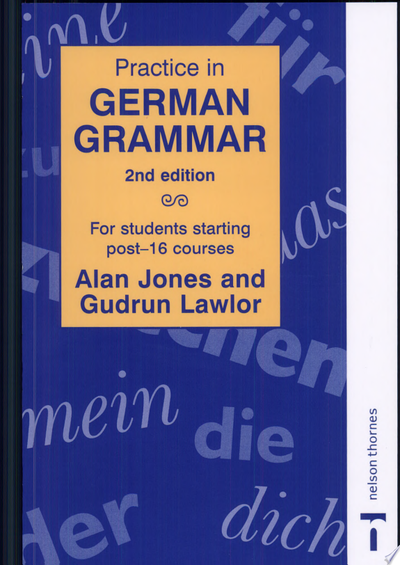 Practice in German Grammar