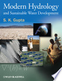 Modern Hydrology and Sustainable Water Development Book