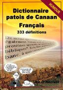 Dictionnaire patois de Canaan/français en 333 définitions - Édition 2016