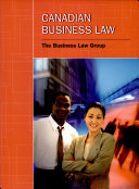 College Student s Guide to Canadian Business Law