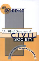 The Moral Foundations of Civil Society