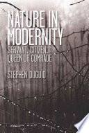 Nature in Modernity Book