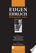 Eugen Ehrlich Bibliographic Index