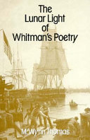 Pdf The Lunar Light of Whitman's Poetry