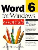 Word 6 for Windows Essentials