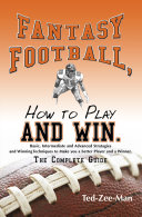 Fantasy Football  How to Play and Win