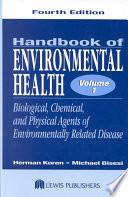 Handbook of Environmental Health, Fourth Edition, Two Volume Set