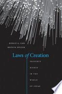 Laws of Creation  : Property Rights in the World of Ideas