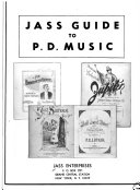 Jass Guide to P D  Music Book