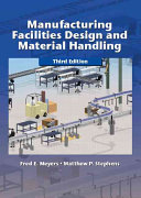 Cover of Manufacturing Facilities Design and Material Handling