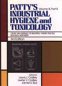 Patty S Industrial Hygiene And Toxicology Theory And Rationale Of Industrial Hygiene Practice