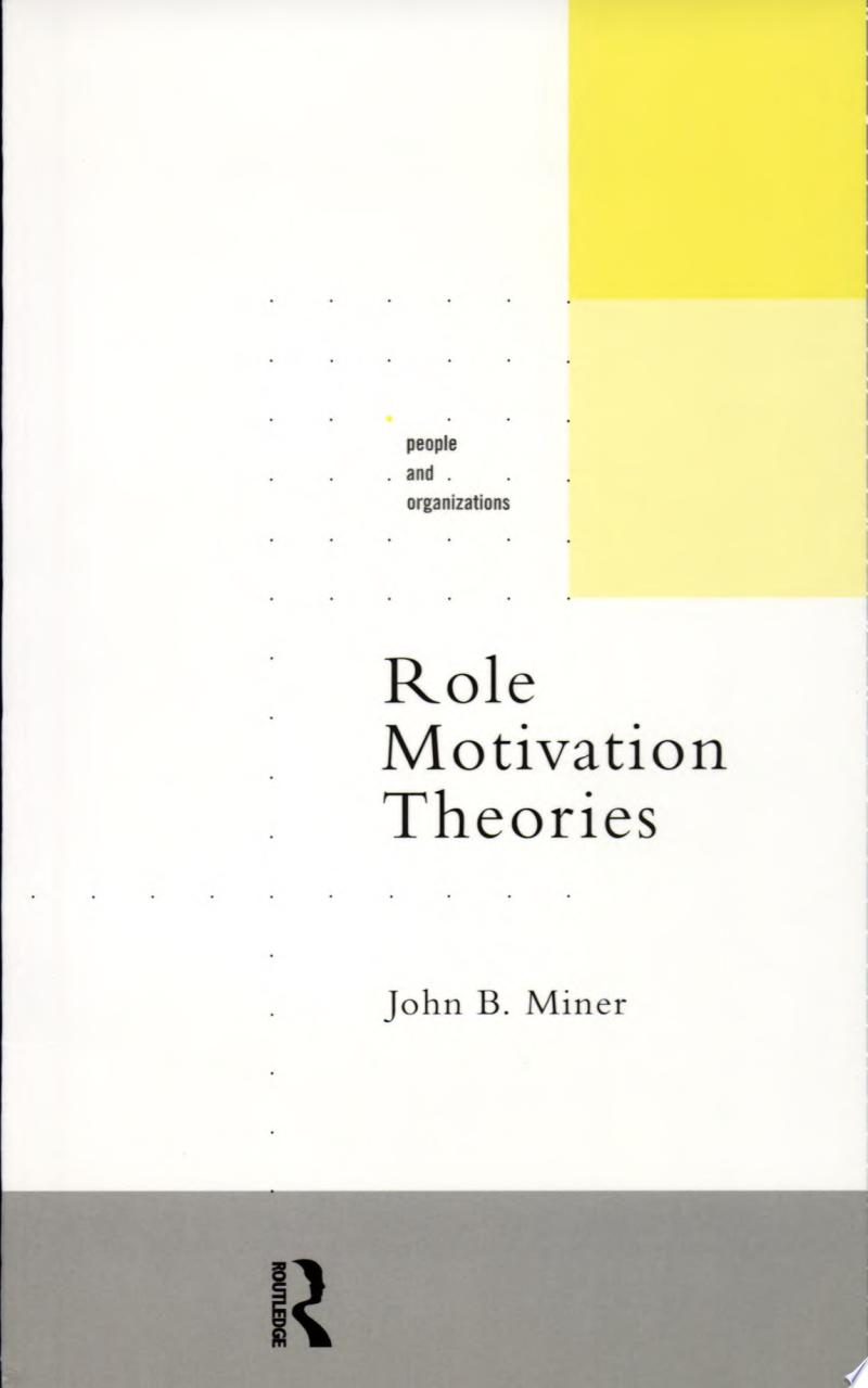 Role Motivation Theories banner backdrop