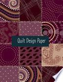 Quilt Paper Design
