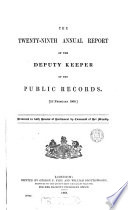 First   120th  report of the deputy keeper of the public records Book