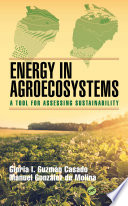 Energy In Agroecosystems Book PDF
