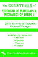 Strength of Materials   Mechanics of Solids I Essentials