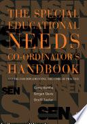 The Special Educational Needs Co ordinator s Handbook