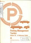Parking Management Tactics