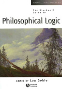The Blackwell Guide to Philosophical Logic ebook