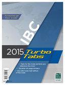 2015 International Building Code Turbo Tabs Book