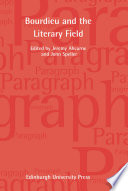Bourdieu And The Literary Field