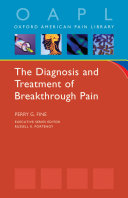 The Diagnosis and Treatment of Breakthrough Pain ebook