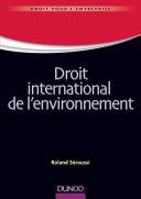 Pdf Droit international de l'environnement Telecharger