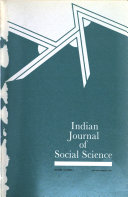 Indian Journal Of Social Science