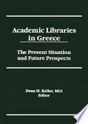 Academic Libraries in Greece